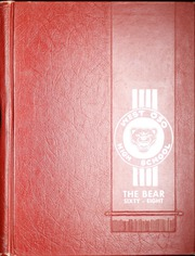 1968 Edition, West Oso High School - Bear Yearbook (Corpus Christi, TX)