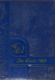 1949 Edition, Spring Branch High School - Bruin Yearbook (Houston, TX)