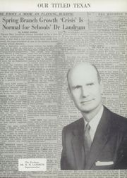 Page 9, 1956 Edition, Spring Branch High School - Bruin Yearbook (Houston, TX) online yearbook collection