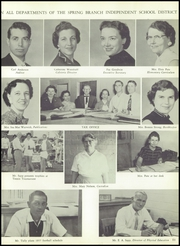 Page 15, 1957 Edition, Spring Branch High School - Bruin Yearbook (Houston, TX) online yearbook collection