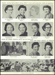 Page 17, 1957 Edition, Spring Branch High School - Bruin Yearbook (Houston, TX) online yearbook collection