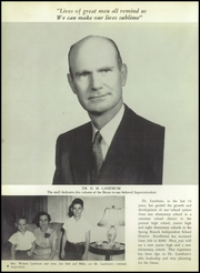Page 8, 1957 Edition, Spring Branch High School - Bruin Yearbook (Houston, TX) online yearbook collection