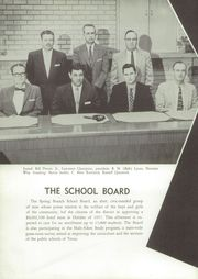 Page 12, 1958 Edition, Spring Branch High School - Bruin Yearbook (Houston, TX) online yearbook collection