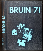 1971 Edition, Spring Branch High School - Bruin Yearbook (Houston, TX)
