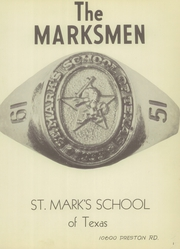Page 7, 1951 Edition, St Marks School of Texas - Marksmen Yearbook (Dallas, TX) online yearbook collection