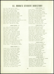 Page 92, 1953 Edition, St Marks School of Texas - Marksmen Yearbook (Dallas, TX) online yearbook collection