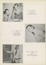 Page 14, 1956 Edition, St Marks School of Texas - Marksmen Yearbook (Dallas, TX) online yearbook collection