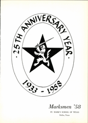 Page 5, 1958 Edition, St Marks School of Texas - Marksmen Yearbook (Dallas, TX) online yearbook collection