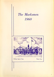 Page 5, 1960 Edition, St Marks School of Texas - Marksmen Yearbook (Dallas, TX) online yearbook collection