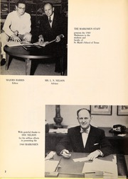 Page 6, 1960 Edition, St Marks School of Texas - Marksmen Yearbook (Dallas, TX) online yearbook collection