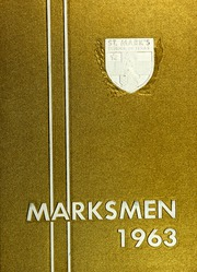 Page 1, 1963 Edition, St Marks School of Texas - Marksmen Yearbook (Dallas, TX) online yearbook collection
