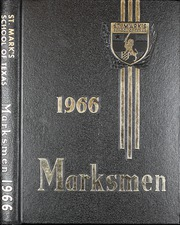 1966 Edition, St Marks School of Texas - Marksmen Yearbook (Dallas, TX)