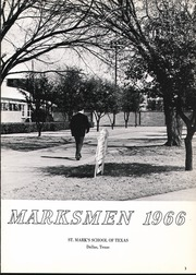 Page 7, 1966 Edition, St Marks School of Texas - Marksmen Yearbook (Dallas, TX) online yearbook collection