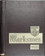 1968 Edition, St Marks School of Texas - Marksmen Yearbook (Dallas, TX)