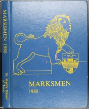 1980 Edition, St Marks School of Texas - Marksmen Yearbook (Dallas, TX)