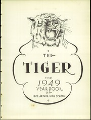 Page 7, 1949 Edition, Lake Arthur High School - Tiger Yearbook (Houston, TX) online yearbook collection