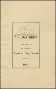 Page 5, 1920 Edition, Seymour High School - Panther Yearbook (Seymour, TX) online yearbook collection