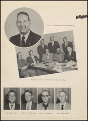 Page 12, 1955 Edition, Seymour High School - Panther Yearbook (Seymour, TX) online yearbook collection