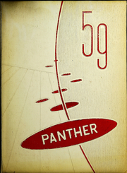 Seymour High School - Panther Yearbook (Seymour, TX) online yearbook collection, 1959 Edition, Page 1