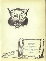 Page 3, 1948 Edition, Henrietta High School - Bearcat Yearbook (Henrietta, TX) online yearbook collection