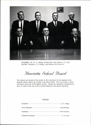 Page 10, 1966 Edition, Henrietta High School - Bearcat Yearbook (Henrietta, TX) online yearbook collection