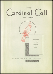 Page 7, 1948 Edition, Hermleigh High School - Cardinal Call Yearbook (Hermleigh, TX) online yearbook collection