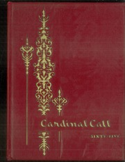 1965 Edition, Hermleigh High School - Cardinal Call Yearbook (Hermleigh, TX)