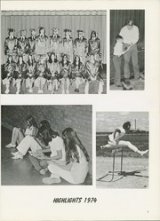 Page 7, 1974 Edition, Hermleigh High School - Cardinal Call Yearbook (Hermleigh, TX) online yearbook collection