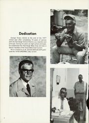 Page 6, 1978 Edition, Hermleigh High School - Cardinal Call Yearbook (Hermleigh, TX) online yearbook collection
