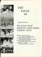 Page 7, 1968 Edition, Roosevelt High School - Eagle Yearbook (Lubbock, TX) online yearbook collection