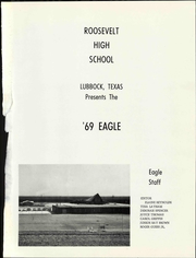 Page 7, 1969 Edition, Roosevelt High School - Eagle Yearbook (Lubbock, TX) online yearbook collection