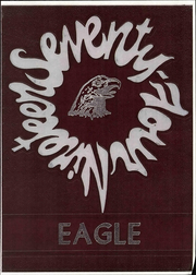 Page 1, 1974 Edition, Roosevelt High School - Eagle Yearbook (Lubbock, TX) online yearbook collection