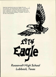 Page 7, 1974 Edition, Roosevelt High School - Eagle Yearbook (Lubbock, TX) online yearbook collection