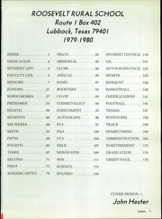 Page 6, 1981 Edition, Roosevelt High School - Eagle Yearbook (Lubbock, TX) online yearbook collection