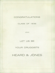 Page 6, 1936 Edition, Tulia High School - Hornet Yearbook (Tulia, TX) online yearbook collection