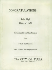 Page 8, 1936 Edition, Tulia High School - Hornet Yearbook (Tulia, TX) online yearbook collection