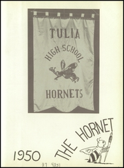 Page 7, 1950 Edition, Tulia High School - Hornet Yearbook (Tulia, TX) online yearbook collection
