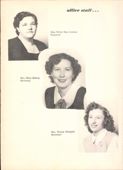 Page 16, 1952 Edition, Trimble Technical High School - Bulldog Yearbook (Fort Worth, TX) online yearbook collection