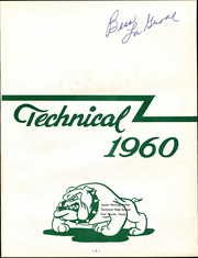 Page 5, 1960 Edition, Trimble Technical High School - Bulldog Yearbook (Fort Worth, TX) online yearbook collection