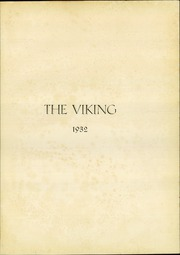 Page 5, 1932 Edition, North Dallas High School - Viking Yearbook (Dallas, TX) online yearbook collection