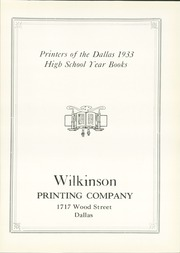 Page 129, 1933 Edition, North Dallas High School - Viking Yearbook (Dallas, TX) online yearbook collection