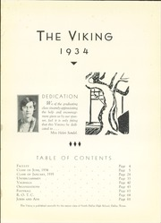 Page 5, 1934 Edition, North Dallas High School - Viking Yearbook (Dallas, TX) online yearbook collection