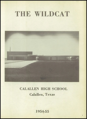 Page 5, 1955 Edition, Calallen High School - Wildcat Yearbook (Corpus Christi, TX) online yearbook collection