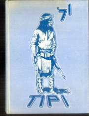 1971 Edition, H Grady Spruce High School - Tipi Yearbook (Dallas, TX)