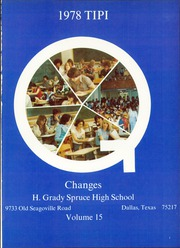 Page 5, 1978 Edition, H Grady Spruce High School - Tipi Yearbook (Dallas, TX) online yearbook collection