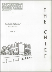 Page 7, 1958 Edition, Waxahachie High School - Chief Yearbook (Waxahachie, TX) online yearbook collection