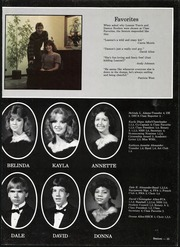 Page 19, 1985 Edition, Waxahachie High School - Chief Yearbook (Waxahachie, TX) online yearbook collection