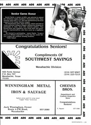 Page 239, 1987 Edition, Waxahachie High School - Chief Yearbook (Waxahachie, TX) online yearbook collection