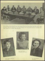 Page 10, 1952 Edition, Canyon High School - Soaring Wings Yearbook (Canyon, TX) online yearbook collection