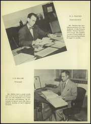 Page 12, 1952 Edition, Canyon High School - Soaring Wings Yearbook (Canyon, TX) online yearbook collection